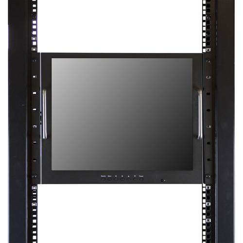 ViewZ 19 LED Display Rack Mount CCTV Monitor
