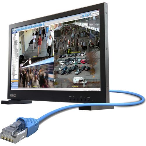 "ViewZ 22"" IP Call Up 1080p HD LED Monitor Onvif Profile-S (Black)"