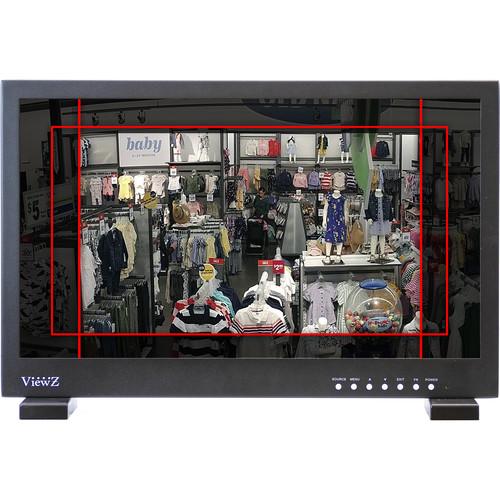 "ViewZ VZ-215LED-L1 21.5"" Rack-Mountable LED-Backlit Surveillance Monitor"
