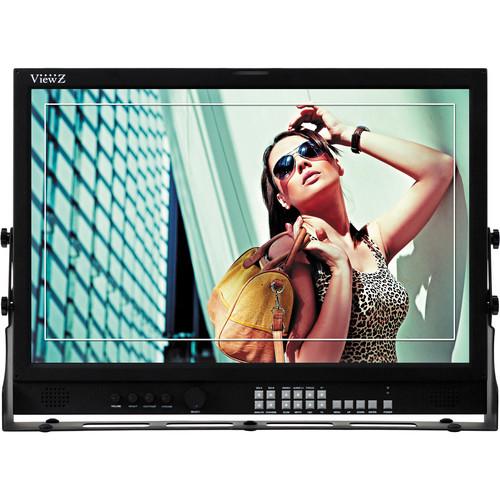 "ViewZ VZ-215PM-P 21.5"" 3G-SDI & 8-Bit Video Production Monitor"