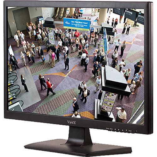 "ViewZ 21.5"" Full HD 1920x1080 LED Monitor, Hybrid HDMI/VGA, 12 Vdc (Black)"