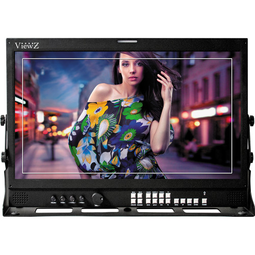"ViewZ VZ-240PM-P 24"" 3G-SDI & 8-Bit Video Production Monitor"