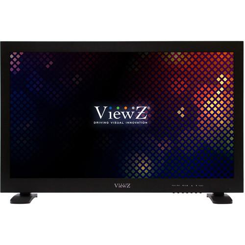 "ViewZ 24"" Hybrid HD 1080P LED Metal Monitor"