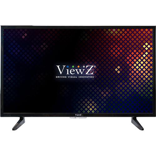 "ViewZ 32""FHD 1920X1080 LED Monitor,BNC(1-In/1-Out)/VGA/HDMI, 12VDC(Black)"