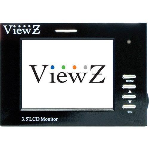 "ViewZ SM Series VZ-35SM 3.5"" Sunlight Readable LCD Test Monitor (Black)"