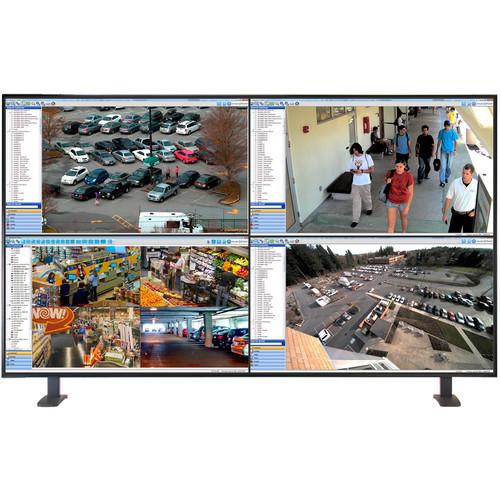 """ViewZ 43"""" Quad View 4K UHD LED Monitor"""