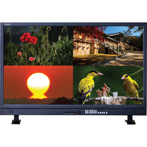 "ViewZ VZ-460PM-P 46"" 3G-SDI 8-Bit Monitor with Stand"