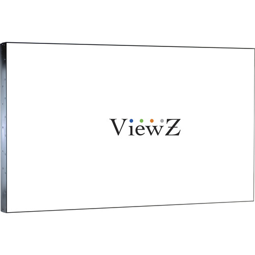 "ViewZ UNB Series 49"" Professional LED CCTV Video Wall Mount Monitor"