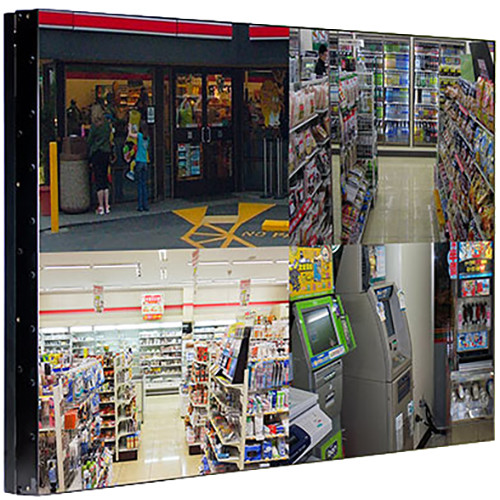 "ViewZ 49""HD 1080P LED U/Sl 1.2mm Black Metal Bezel,DP/DVI/VGA In/HDMI I/O/RS-232 I/O)Remote,110V"
