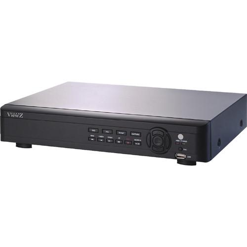 ViewZ VZ-4HyDVR 4-Channel Hybrid DVR with HD-SDI Support (2 TB)