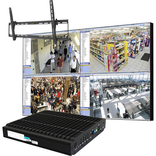 "ViewZ CCTV Video Wall In-A-Box (46"", Ultra-Narrow Bezel)"