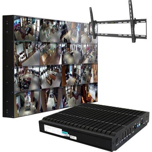 "ViewZ CCTV Video Wall In A Box (55"", Ultra-Narrow Bezel)"