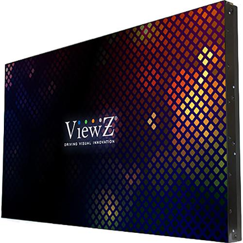 "ViewZ 55""HD 1080P LED Ultra-Slim Bezel, DP/DVI/VGA-IN/HDMI I/O Daisy-Chain"
