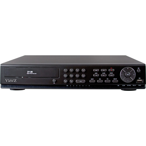 ViewZ VZ-08HDVR 8-Channel 1080p HD-SDI DVR (2TB)