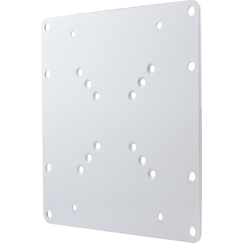 """ViewZ Wall-Mount Adapter Plate for Select 24 to 32"""" ViewZ Monitors (White)"""
