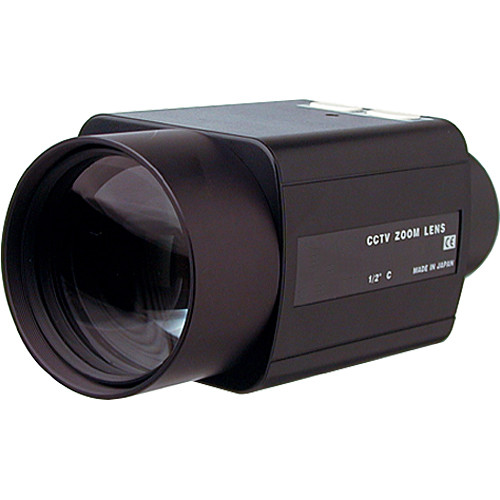 "ViewZ VZ-B20X10MAI-4W 1/2"" Motorized Zoom with Auto-Iris for 1/2"" and 1/3"" Cameras"