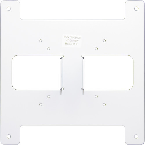 "ViewZ VZ-CM06 Telescopic Ceiling Mount with 3 to 6' Extension for 23 to 32"" Flat Panel Monitors (White)"