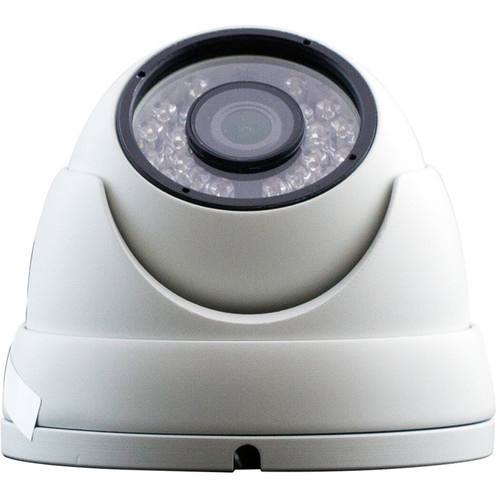 ViewZ 2.1MP AHD Outdoor Mini Dome Camera with 3.6mm Lens and Night Vision