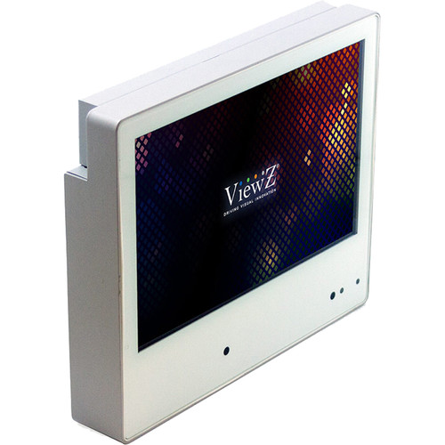 """ViewZ 10.1"""" IP Public View LED Monitor with 2.1MP Camera"""