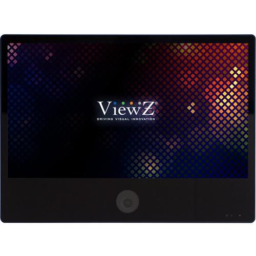 "ViewZ VZ-PVM-I2B3N 23.6"" 1080p IP Public View Monitor with Ethernet (Black)"