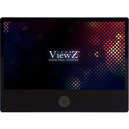 "ViewZ VZ-PVM-I2B3N 23.6"" 1080p IP Public View Monitor with Ethernet (Black)"