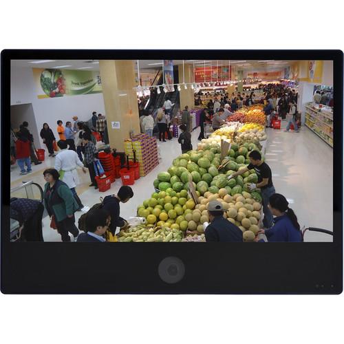 "ViewZ VZ-PVM-I3B3N 27"" 1080p IP Public View Monitor with Ethernet (Black)"
