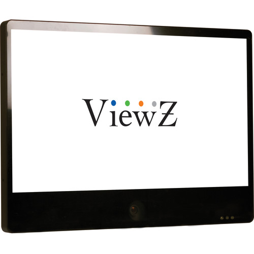 """ViewZ 32"""" IP Public View Monitor with Ethernet (Black)"""
