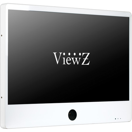 "ViewZ 32"" IP Public View Monitor with Ethernet (White)"