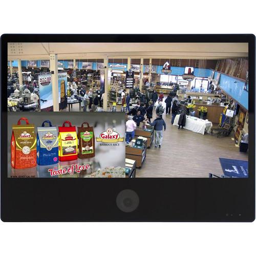 """ViewZ VZ-PVM-Z2B3N 23.6"""" 1080p Public View Monitor (Black)"""