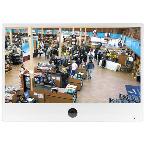 """ViewZ VZ-PVM-Z4W3N 32"""" 1080p Public View Monitor (White)"""