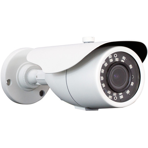 ViewZ 2.1MP AHD Outdoor Bullet Camera with 2.8-12mm Varifocal Lens and Night Vision
