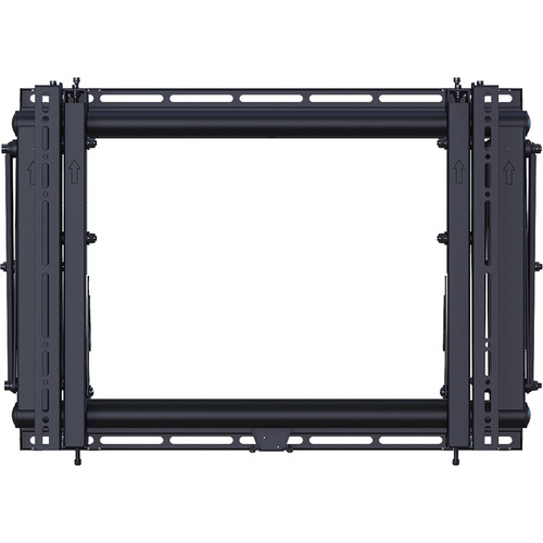 ViewZ VZ-XM55 Spring-Loaded Scissor Wall Mount for Flat Panel Displays