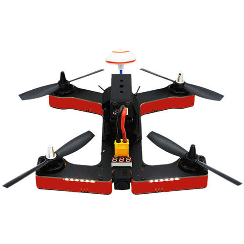 VIFLY R220 Ready-to-Fly 220mm FPV Racing Drone (Red)
