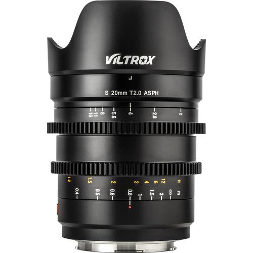 Viltrox S 20mm T2.0 Cine Lens - Panasonic/Leica L-Mount