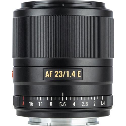 Viltrox AF 23mm f/1.4 E Lens for Sony E (Black)