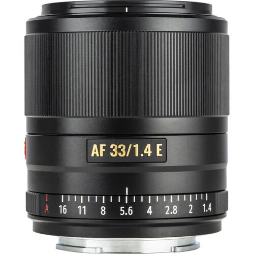 Viltrox AF 33mm f/1.4 E Lens for Sony E (Black)