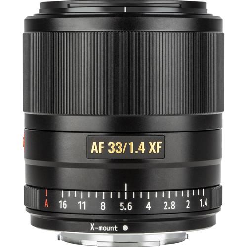Viltrox AF 33mm f/1.4 XF Lens for FUJIFILM X