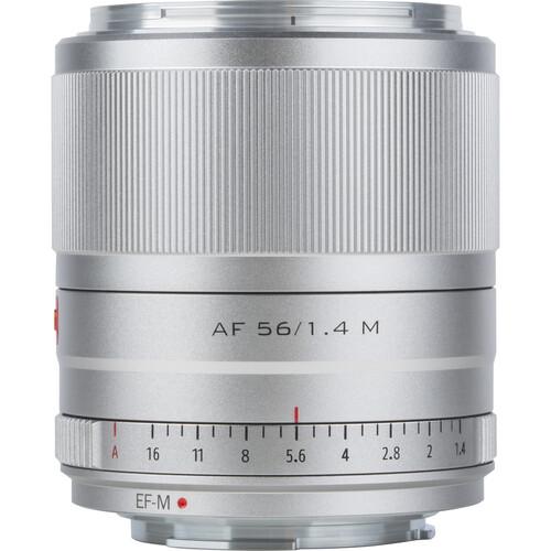 Viltrox AF 56mm f/1.4 M Lens for Canon EF-M (Silver)
