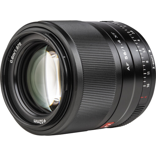 Viltrox AF 56mm f/1.4 XF Lens for FUJIFILM X (Black)