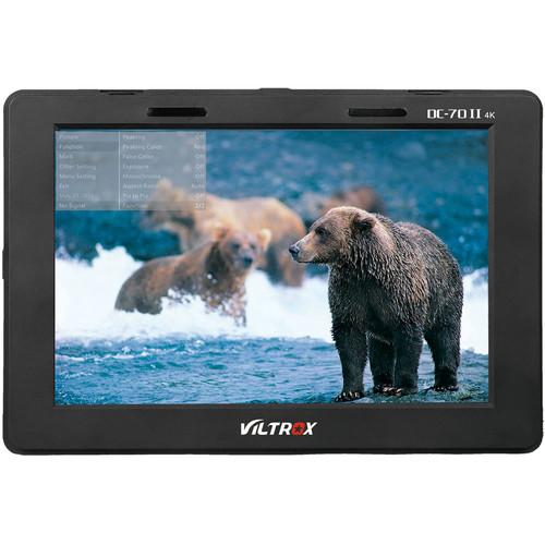 "Viltrox 7"" DC70II HDMI Monitor for DSLR and Video Cameras"