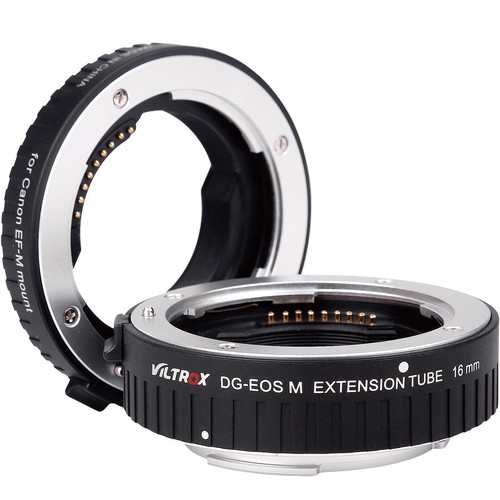 Viltrox Automatic Extension Tube Set for Canon EF-M