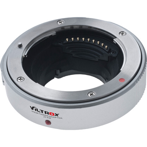 Viltrox JY-43F Lens Mount Adapter for Four Thirds-Mount Lens to Select Micro Four Thirds Cameras (White)