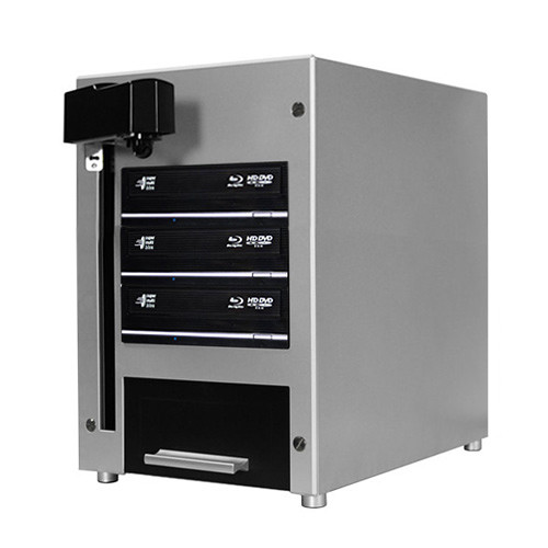 Vinpower Digital Cube Blu-Ray/DVD/CD Automated Duplicator (3 Drives, 60-Disc Capacity)