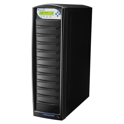 Vinpower Digital SharkCopier SATA DVD/CD Tower Duplicator with Multi-File Copy Protection (10-Target)