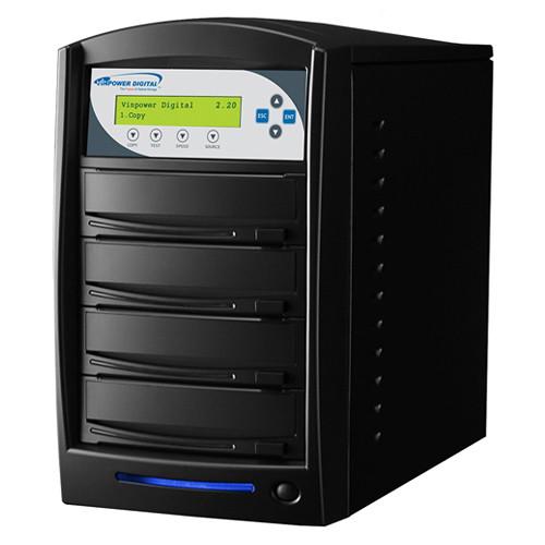 Vinpower Digital SharkCopier SATA DVD/CD Tower Duplicator (3-Target)