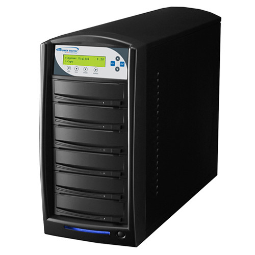 Vinpower Digital SharkCopier SATA 24x DVD/CD 1 to 5 Target USB 3.0 Duplicator