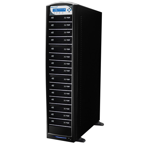 Vinpower Digital SharkBlu Blu-ray/DVD/CD Daisy-Chainable Tower Duplicator (HDD to 15-Target)