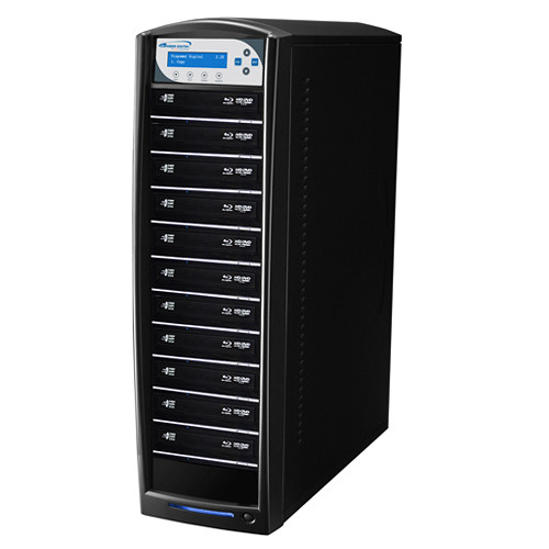 Vinpower Digital SharkBluCP Blu-ray/DVD/CD Tower Duplicator with Multi-File Copy Protection (HDD to 11-Target)