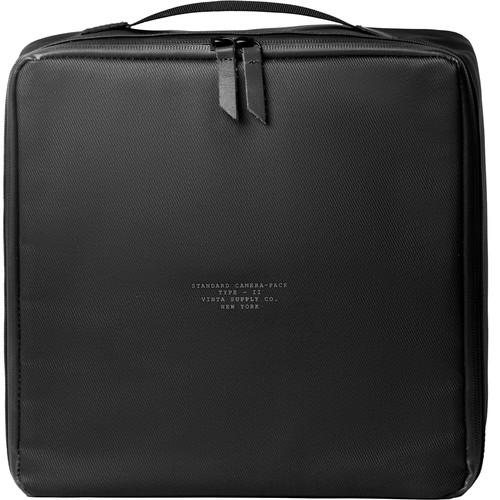 Vinta Type II Field Camera Pack (Black, Premium Twill/Leather)