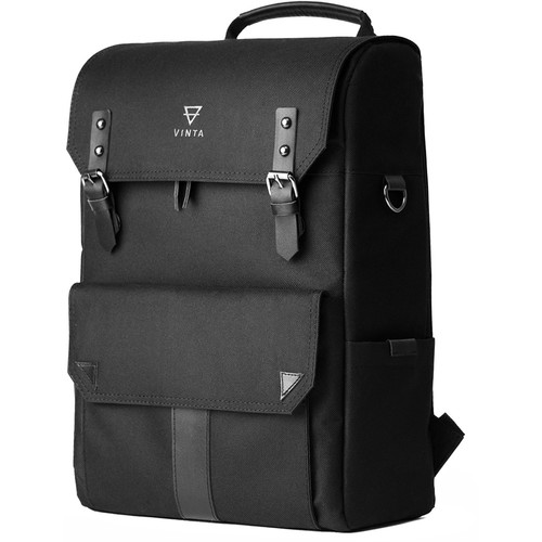 Vinta S-Series Backpack Travel Bag (Black)
